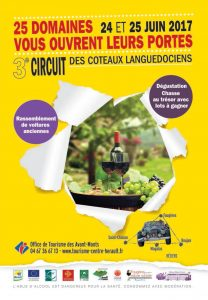 Circuit coteaux languedociens 2017