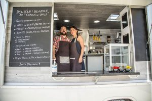 Le Camion qui grille, partenaire gourmand du Circuit des Coteaux Languedociens